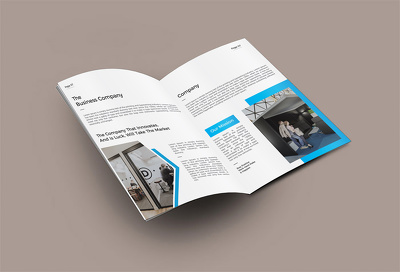 Create Corporate Business Brochure, Booklet And Company Profile