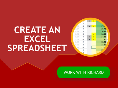 create an Excel spreadsheet, dashboard or report