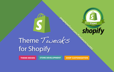 Theme tweaks in Shopify
