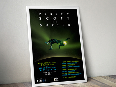 Design an A2 poster for your event, company or whatever you need