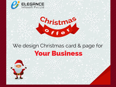 Update Web design in Christmas or New Year theme with get back