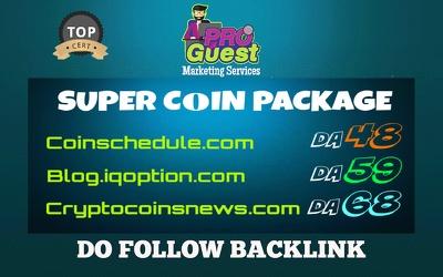 Deliver my SUPER Coin Offer