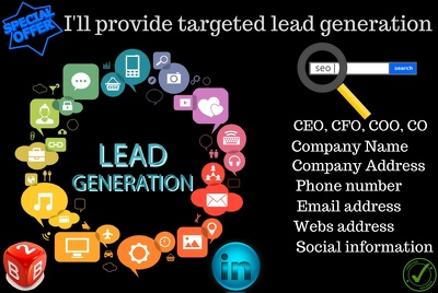 Provide 100 targeted leads