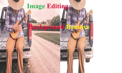 Professionally background removal for -20 images