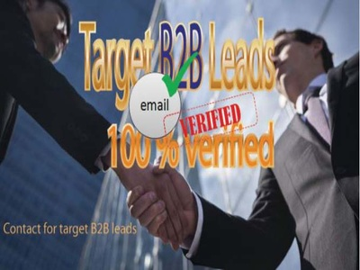 Provide high quality Target leads from Linked in