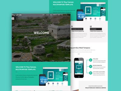 Design Your Modern Website PSD Template