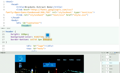 Make pixel perfect PSD to HTML