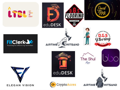 Create a stunning logo for your brand/business