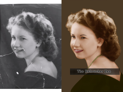 Restore Your Old Color & Black & White Image