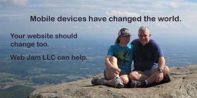 Create a mobile-responsive data-drive web application