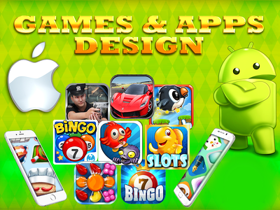 Develop and design top games for ios and android