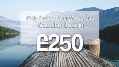 Build a Responsive SEO friendly Wordpress Website Inc Web Design