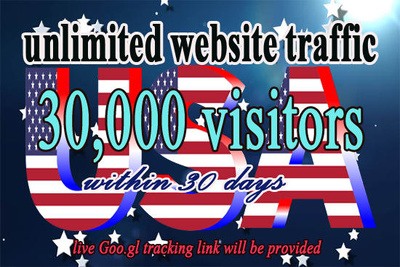 Drive unlimited quality USA traffic to your website