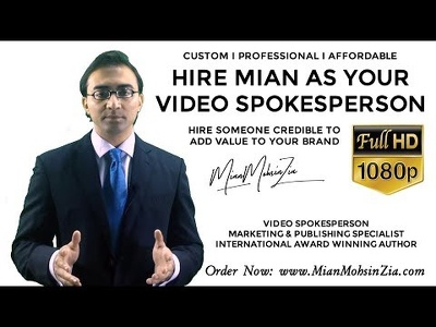 Video Spokesperson in Full HD with Pro Editing