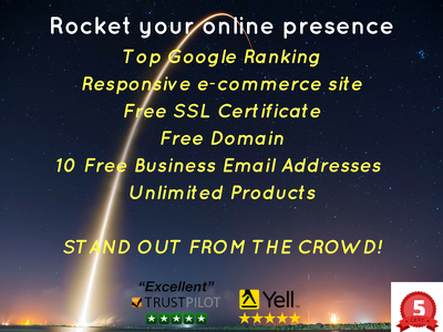 Build an e-commerce website and rocket your SEO