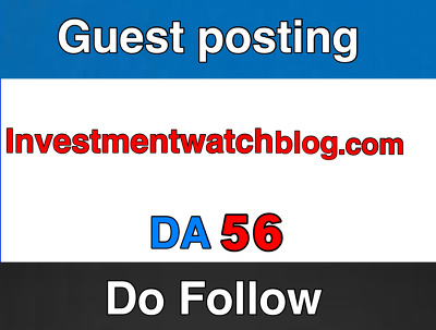 Publish on InvestmentWatchBlog – InvestmentWatchBlog.com DA 63