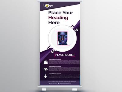 Design leaflet, Poster, Roll up banner, Banner, flyer or ADVERT