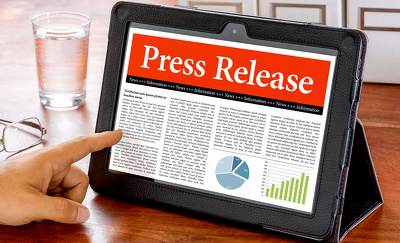 Write professional Press Releases for any kind of Products