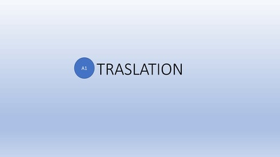 Translate 1 page (1000wds) from English to French and vice versa