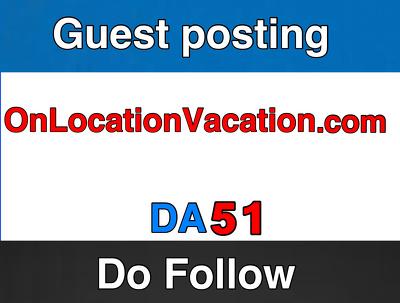 Guest post on OnLocationVacations –  OnLocationVacations.com