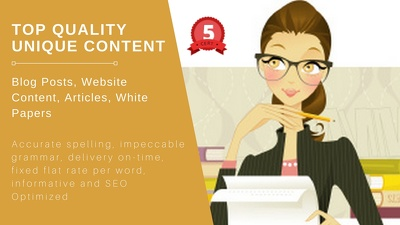 Write 1 page SEO website content ★ 1 blog ★ 1 article.