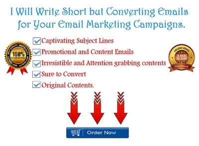 Write Email Sequence that converts