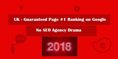 UK - Guaranteed Page #1 Ranking on Google | No SEO Agency Drama