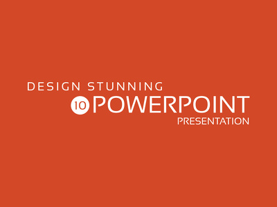 Design 10 Powerpoint slides with revisions + Source Files