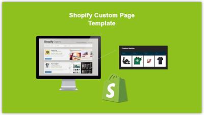 Add custom Template/fields in shopify