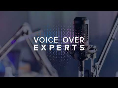 record a 1 min Female American Voiceover