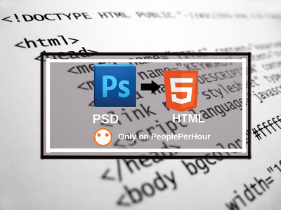 Convert Your PSD into Responsive HTML web page