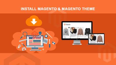 Install Magento & Magento Theme