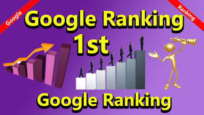 Boost your google ranking 1st for google search white hat seo