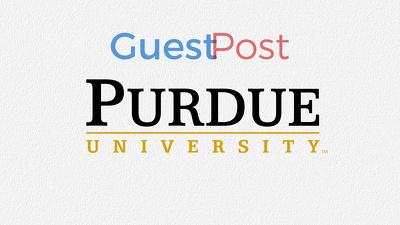 High Authority Educational Purdue, Purdue.edu Blog Post DA90