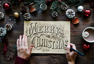 Design An Awesome Christmas Greeting Banners & Landing Page