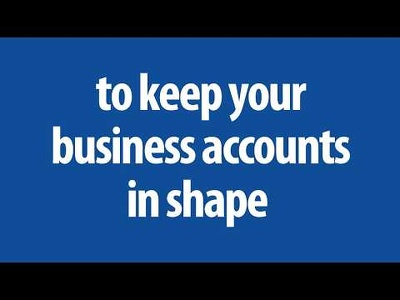 Maintain your business accounts