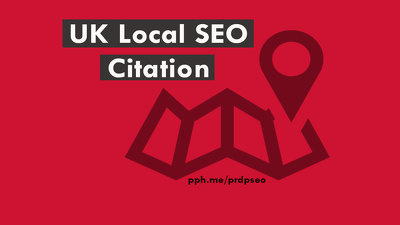 Manually Build 65+ UK SEO Citation Link