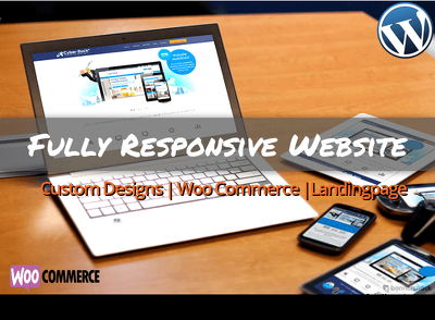 Create a fully Responsive WordPress Website of 5 pages
