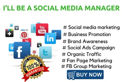 Do social media management for your business & your branding