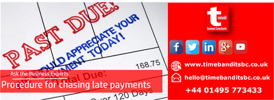 Provide a system for avoiding and dealing with late payments