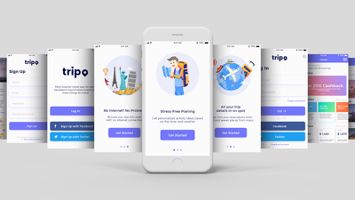 IOS & Android UI Design for your Mobile App - Up to 15 Screens