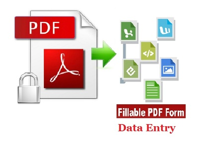 Convert pdf to any format in large and in small quantity as well