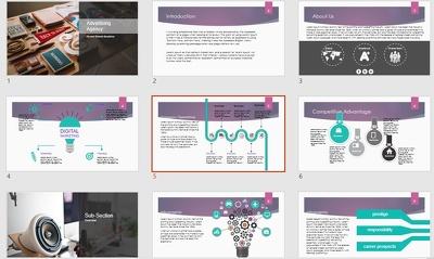 Powerpoint Presentation Presentation Powerpoint Advertising