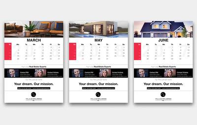 Design an outstanding calendar that is eye catching