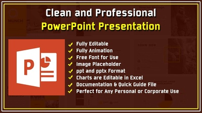 Design Professional PowerPoint Presentation || 20 Slides