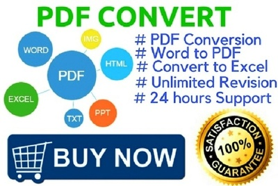 Do PDF  convert management for your business & your branding