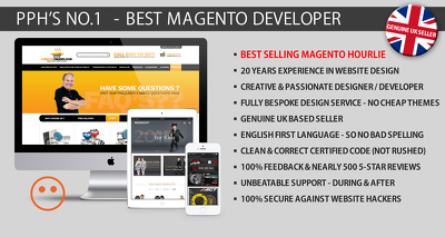 Design and Develop you a Bespoke Magento Ecommerce Website