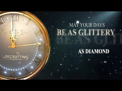 Create Happy New Year Greetings Countdown video