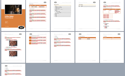Create A User Manual Template In MS Word