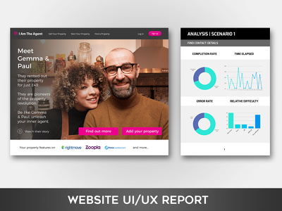 Produce a detailed UI & UX audit and report for your website